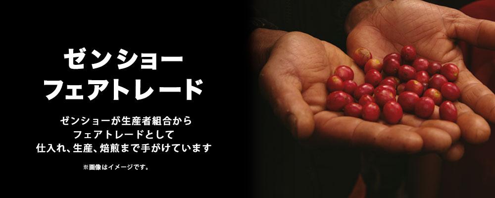 【定期購入】ブルンジ(レギュラー粉180g×2袋)ゼンショーフェアトレードコーヒー 【毎月お届け】【送料無料】【常温】
